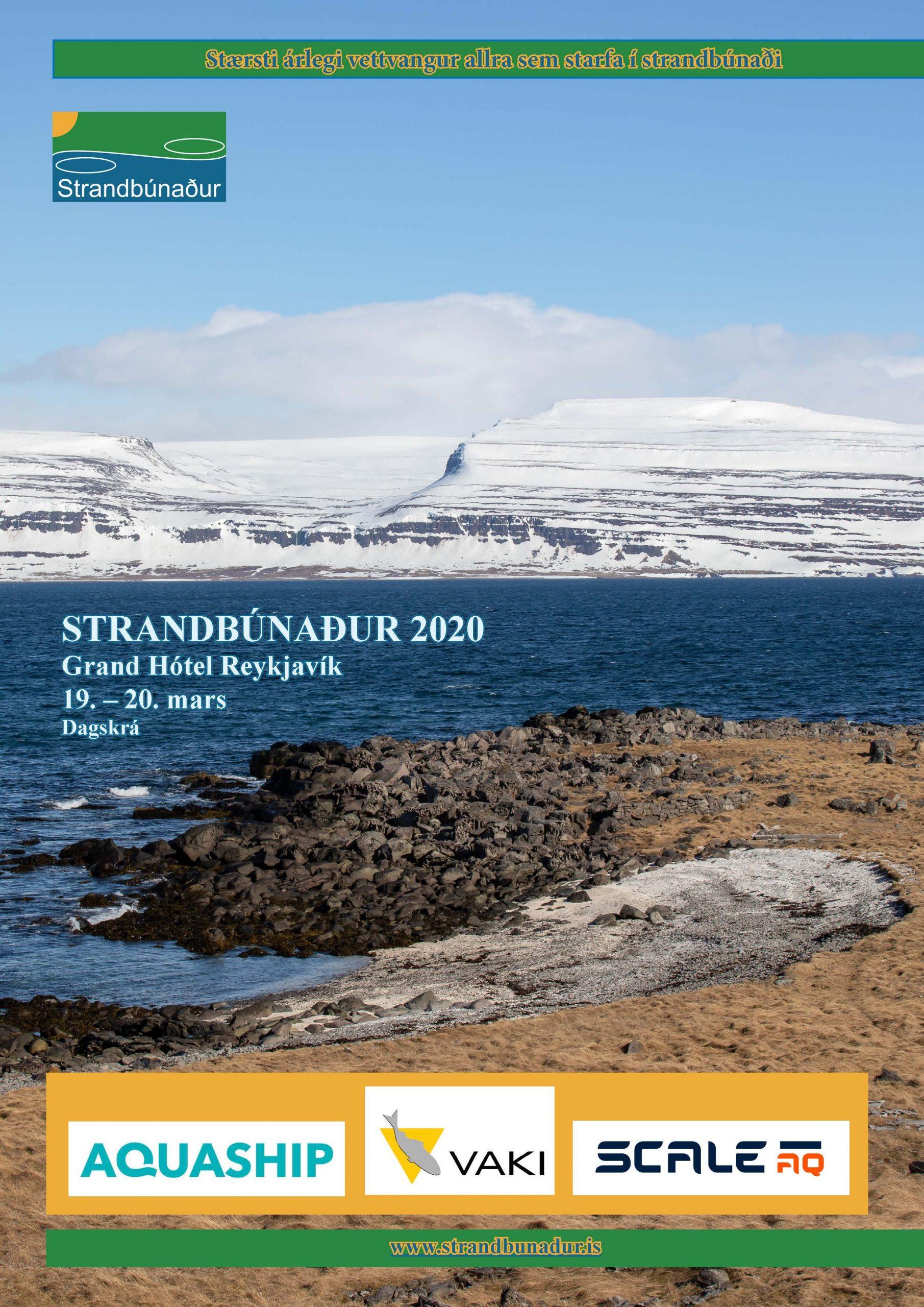 Dagskrá Strandbúnaðar 2020